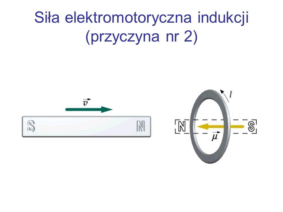 Siła elektromotoryczna indukcji (przyczyna nr 2)