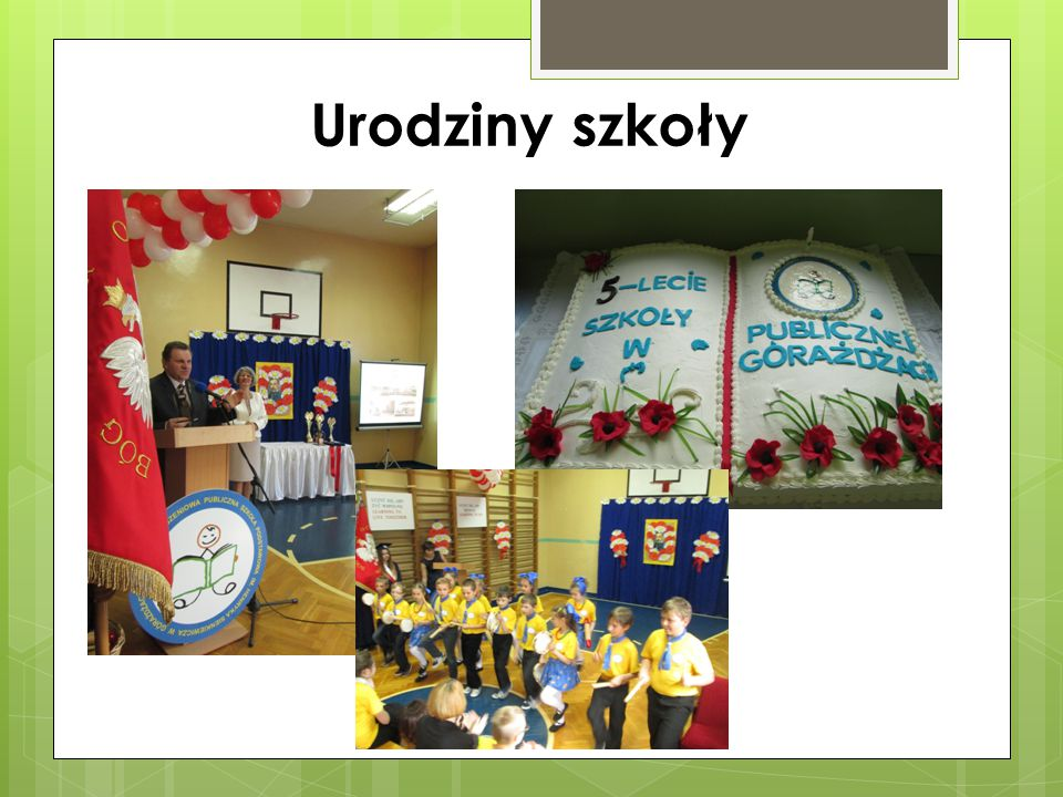 Urodziny szkoły