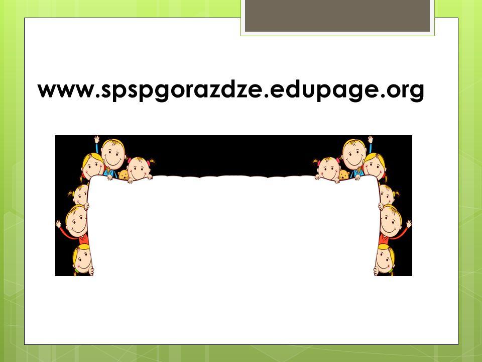 www.spspgorazdze.edupage.org