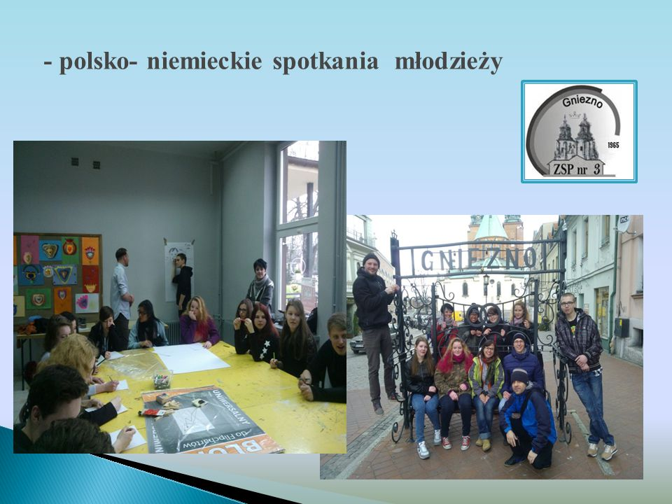 - polsko- niemieckie spotkania młodzieży