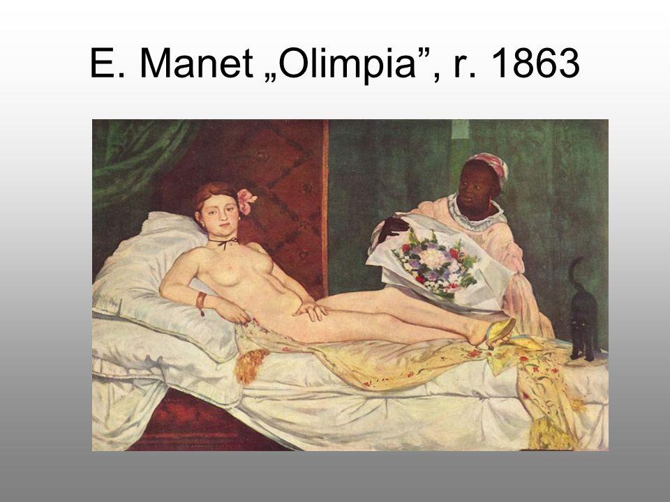 "E. Manet ""Olimpia"", r. 1863"
