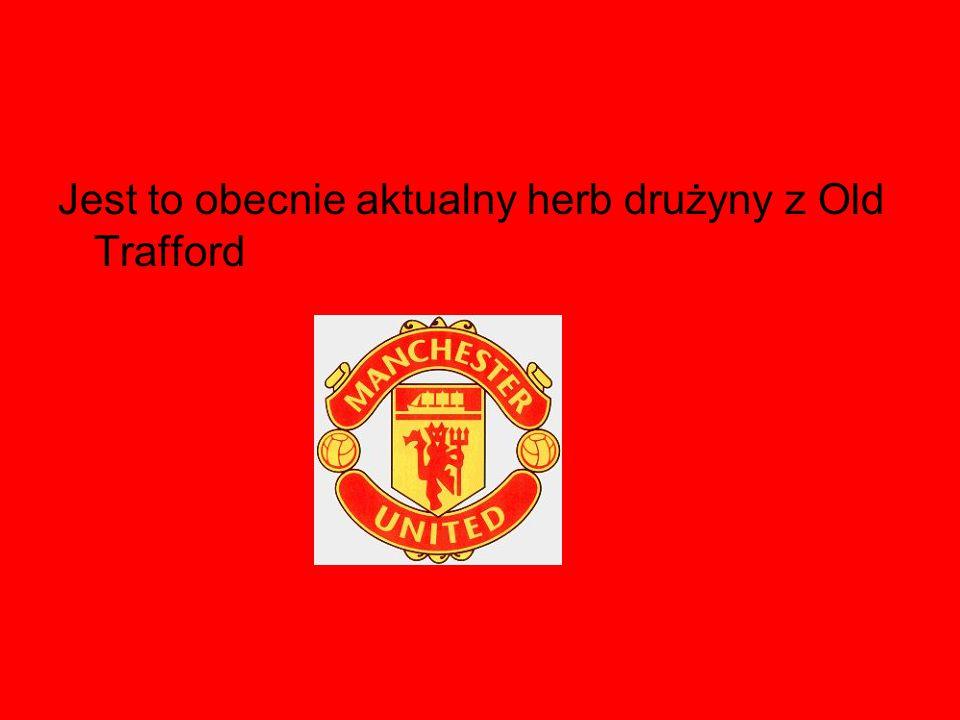 Jest to obecnie aktualny herb drużyny z Old Trafford