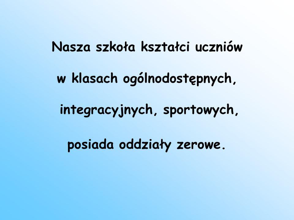Możemy pochwalić się najnowocześniejszą w Puławach salą gimnastyczną
