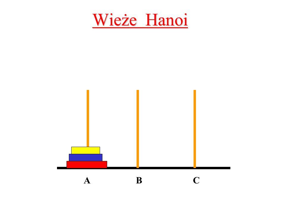 Wieże Hanoi ABC
