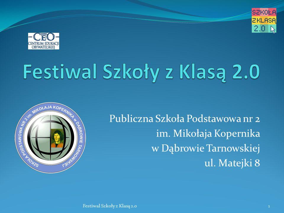 Publiczna Szkoła Podstawowa nr 2 im. Mikołaja Kopernika w Dąbrowie Tarnowskiej ul.