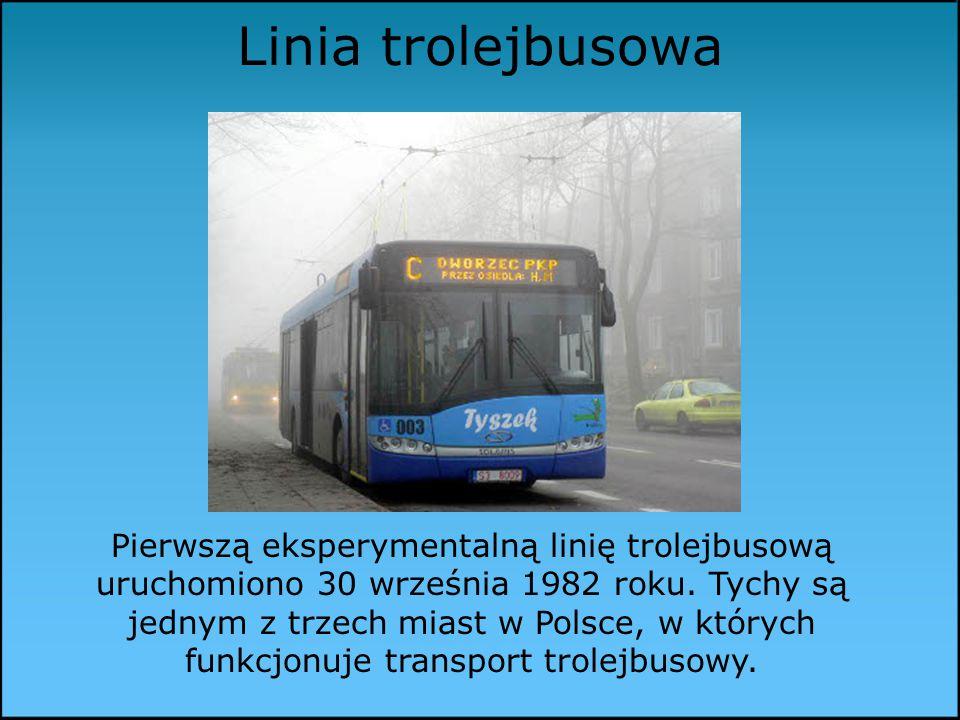 Linia trolejbusowa Pierwszą eksperymentalną linię trolejbusową uruchomiono 30 września 1982 roku.