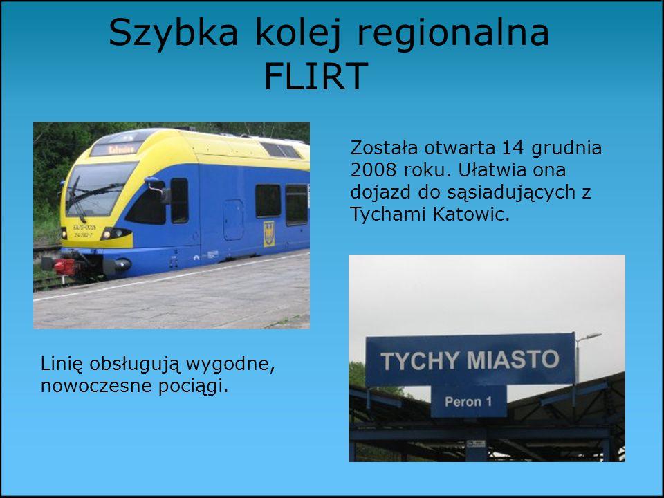 Szybka kolej regionalna FLIRT Została otwarta 14 grudnia 2008 roku.