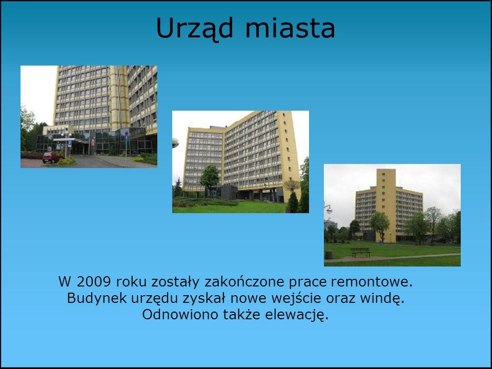 Urząd miasta W 2009 roku zostały zakończone prace remontowe.