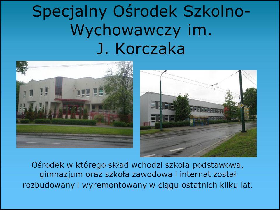 Specjalny Ośrodek Szkolno- Wychowawczy im.J.