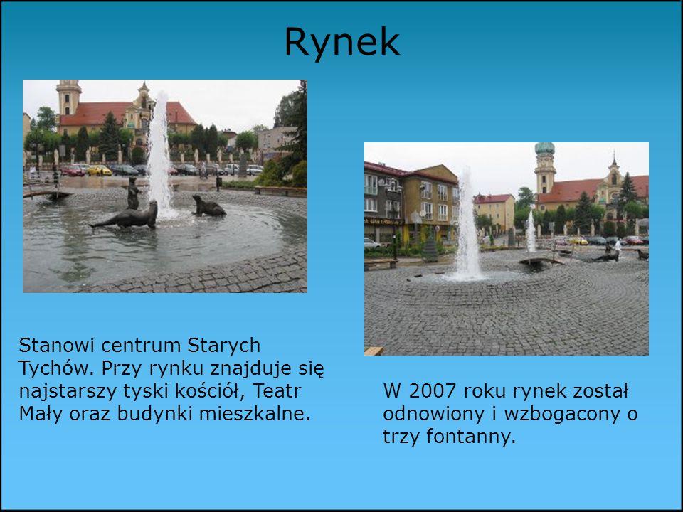 Stanowi centrum Starych Tychów.