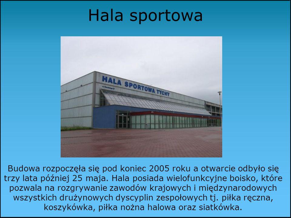 Hala sportowa Budowa rozpoczęła się pod koniec 2005 roku a otwarcie odbyło się trzy lata później 25 maja.