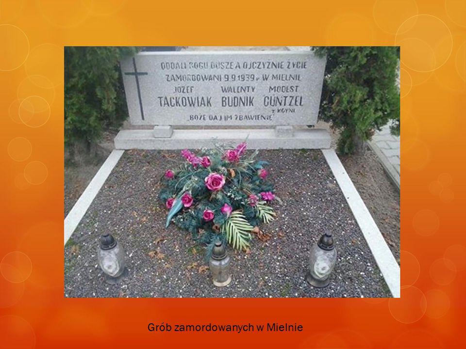 Grób zamordowanych w Mielnie