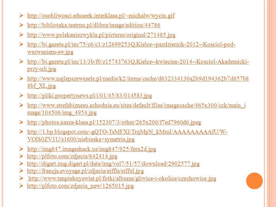  http://ofrancji.com/wp-content/uploads/2012/01/Witra%C5%BCe-Katedra-Notre- Dame- Pary%C5%BC-by-batigolix.jpg http://ofrancji.com/wp-content/uploads/2012/01/Witra%C5%BCe-Katedra-Notre- Dame- Pary%C5%BC-by-batigolix.jpg  http://bi.gazeta.pl/im/7/2301/z2301667Q,Katedra-Notre-Dame---zabytek-czy- miejsce-kultu-.jpg http://bi.gazeta.pl/im/7/2301/z2301667Q,Katedra-Notre-Dame---zabytek-czy- miejsce-kultu-.jpg  http://1.bp.blogspot.com/H5c19gkd7SM/T4aWJUcbeGI/AAAAAAAAAHI/CRugtU4 U56E/s1600/gasienica1.jpg http://1.bp.blogspot.com/H5c19gkd7SM/T4aWJUcbeGI/AAAAAAAAAHI/CRugtU4 U56E/s1600/gasienica1.jpg  zdjęcia M.