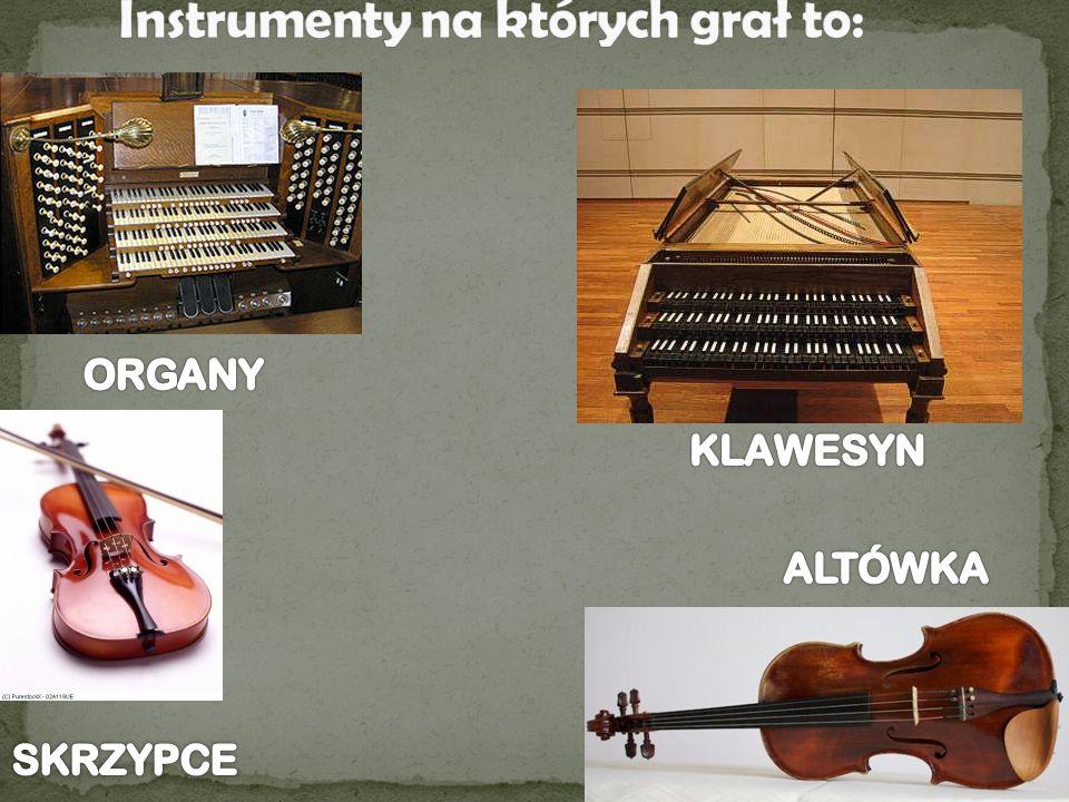 Mistrz Bach tworzył również stylizowaną muzykę taneczną opartą na dawnych tańcach (z Niemiec, Francji i Hiszpanii) sarabandy, allemande, musette [czyt.