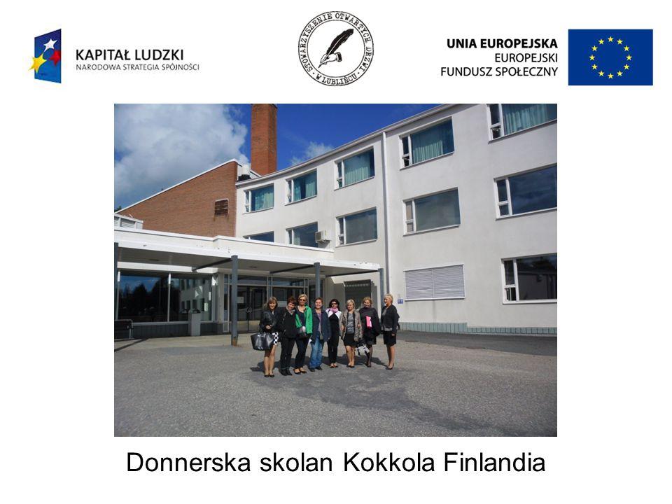 Donnerska skolan Kokkola Finlandia