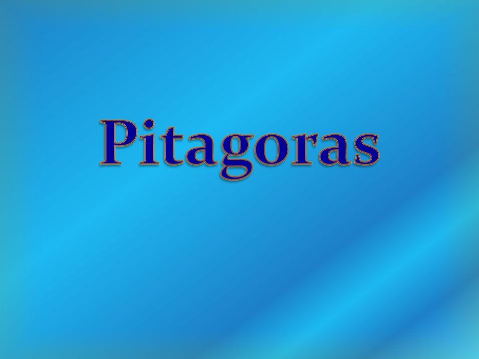  Pitagoras - Życiorys  Urodził się ok.