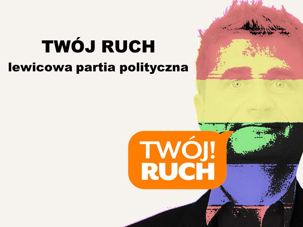 TWÓJ RUCH lewicowa partia polityczna