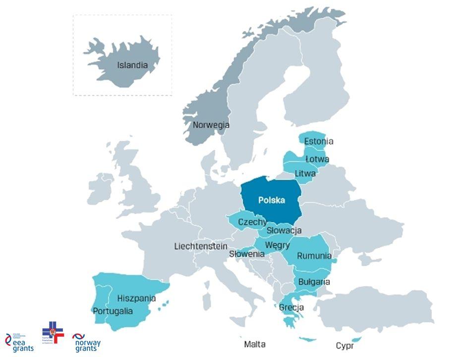 ALOKACJA Łączna kwota drugiej edycji funduszy norweskich i EOG to 1,798 mld euro.