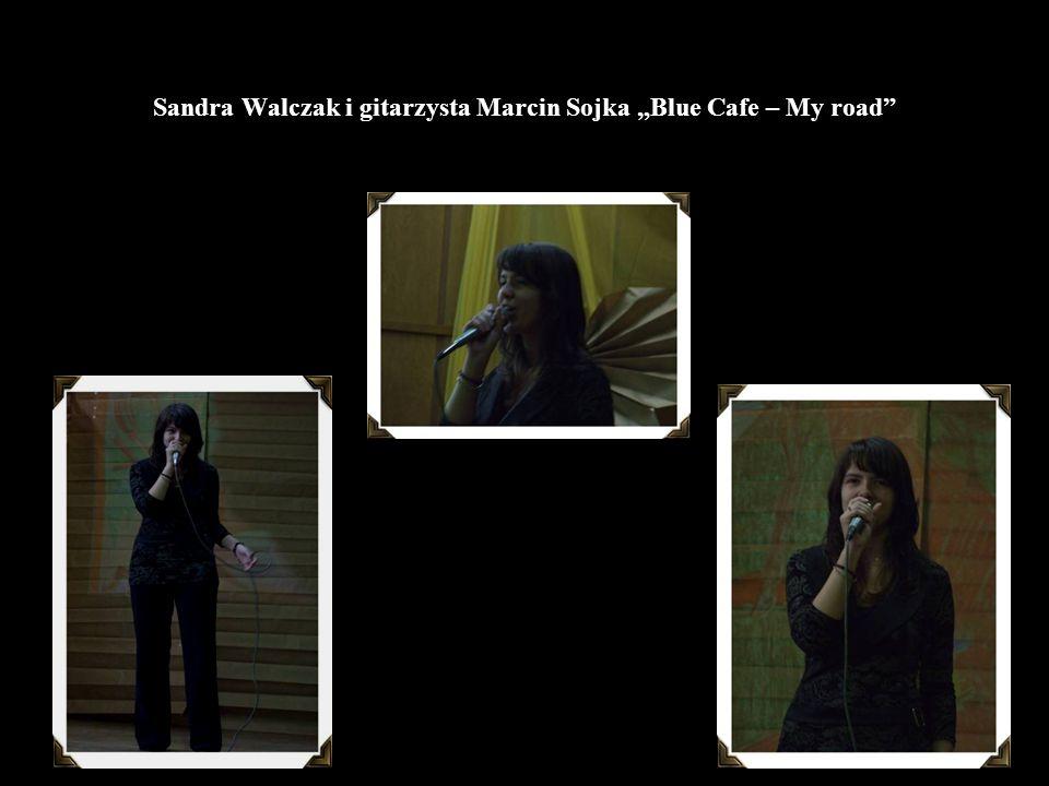 "Sandra Walczak i gitarzysta Marcin Sojka ""Blue Cafe – My road"