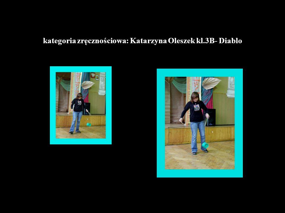 kategoria zręcznościowa: Katarzyna Oleszek kl.3B- Diablo