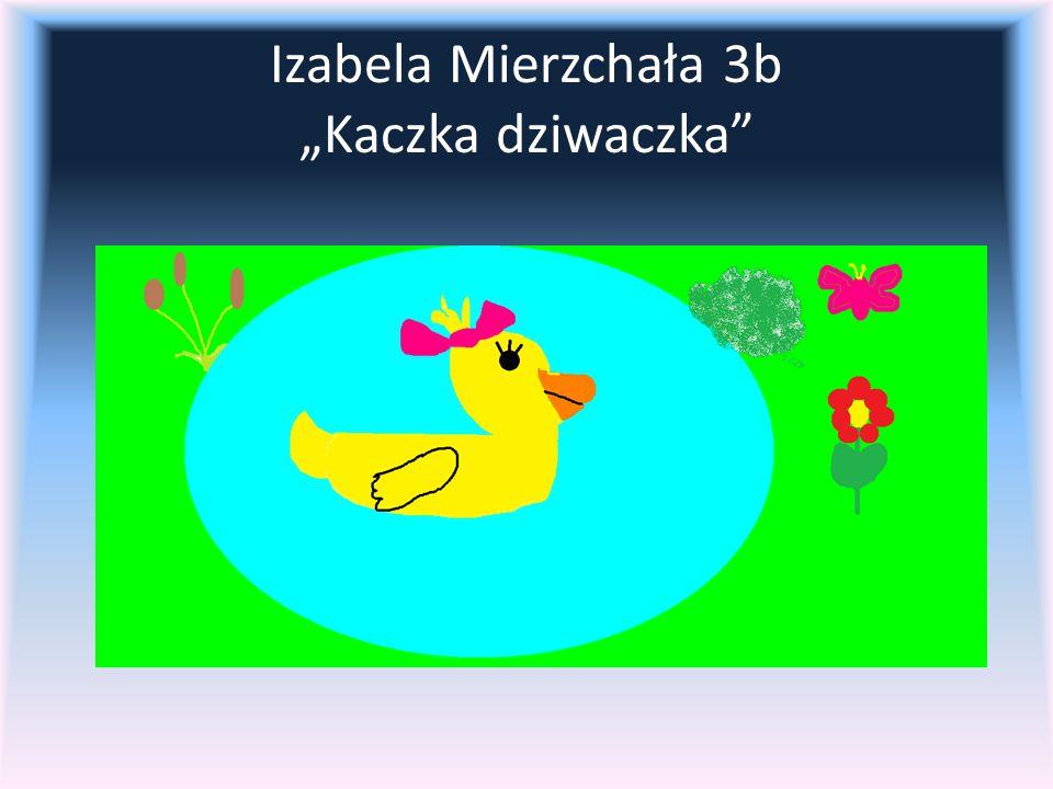 """Izabela Mierzchała 3b """"Kaczka dziwaczka"""
