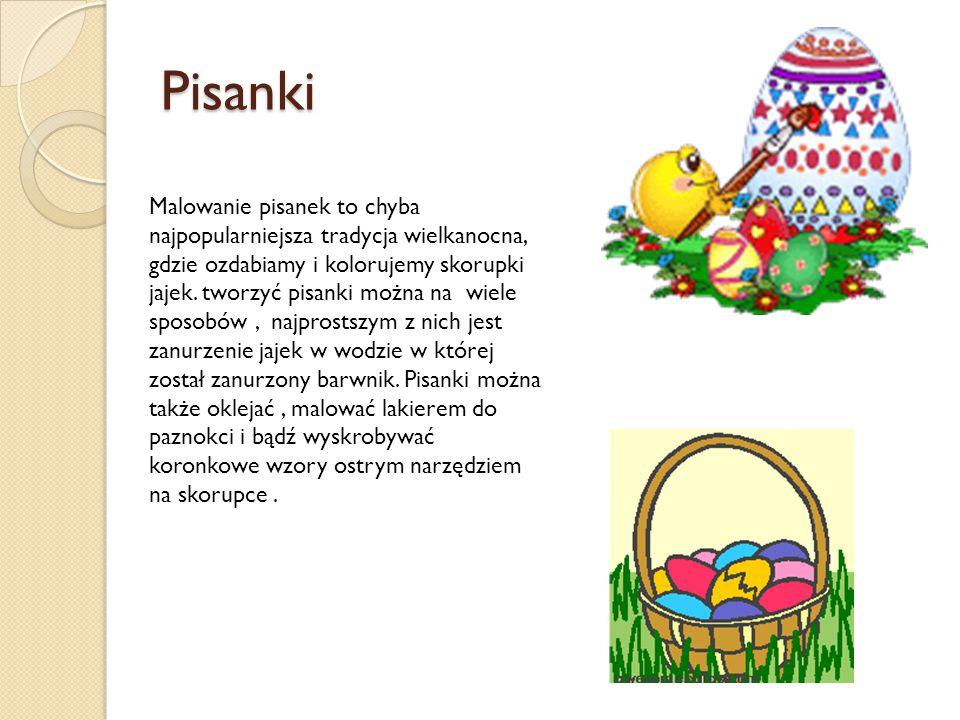 Pisanki Malowanie pisanek to chyba najpopularniejsza tradycja wielkanocna, gdzie ozdabiamy i kolorujemy skorupki jajek. tworzyć pisanki można na wiele
