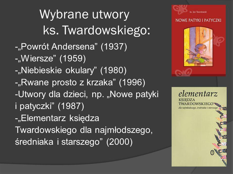 Wybrane utwory ks.