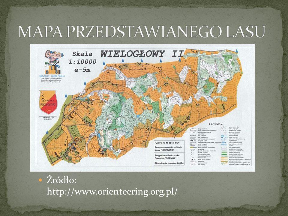 Źródło: http://www.orienteering.org.pl/