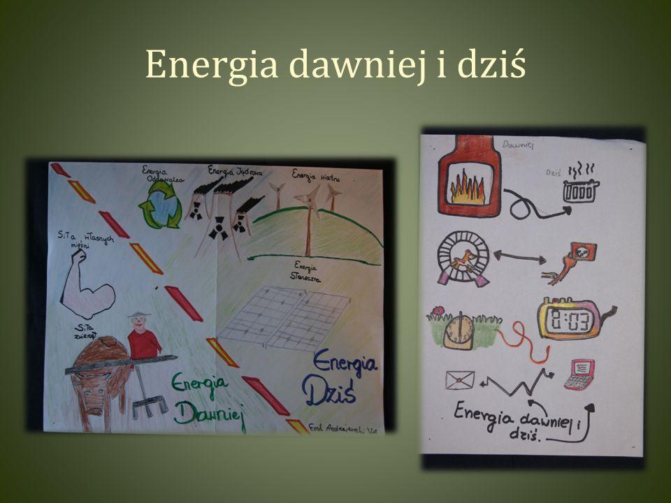 Energia dawniej i dziś