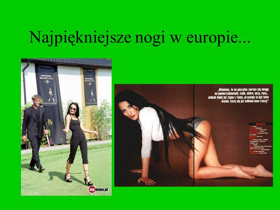 Najpiękniejsze nogi w europie...