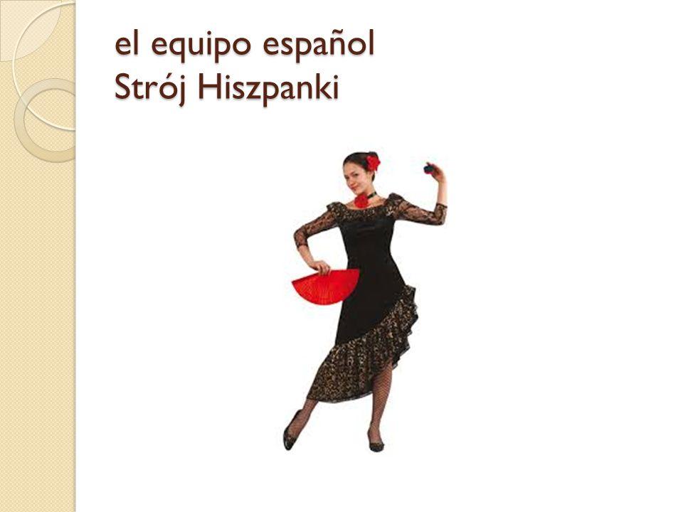 el equipo español Strój Hiszpanki