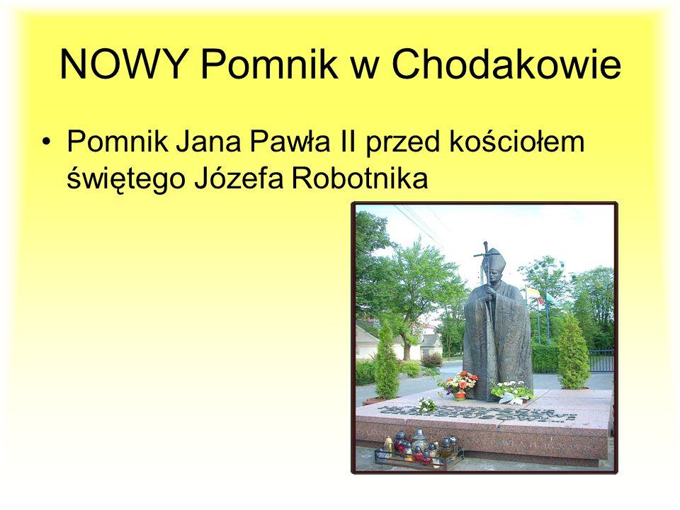 POWSTAŁY NOWE OBWODNICE Obwodnica im. Jana Pawła II w Chodakowie Obwodnica Sochaczewska