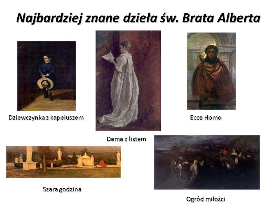 DZIAŁALNOŚĆ ZAKONNA Wraz z namalowaniem obrazu Ecce Homo we wnętrzu Adama Chmielowskiego nastąpił przełom.