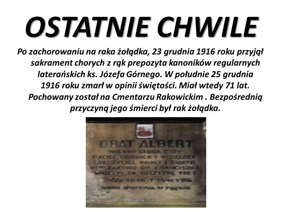 Za wybitne zasługi w działalności niepodległościowej i na polu pracy społecznej Prezydent Ignacy Mościcki 10 listopada 1938 roku nadał mu pośmiertnie Wielką Wstęgę Orderu Odrodzenia Polski