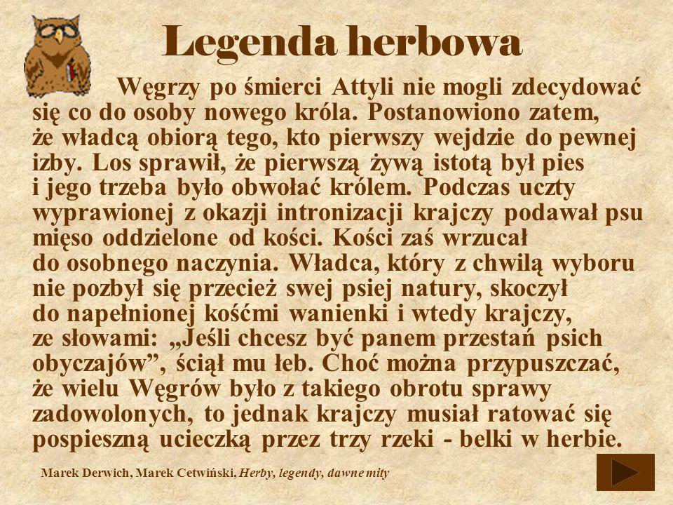 Węgrzy po śmierci Attyli nie mogli zdecydować się co do osoby nowego króla.