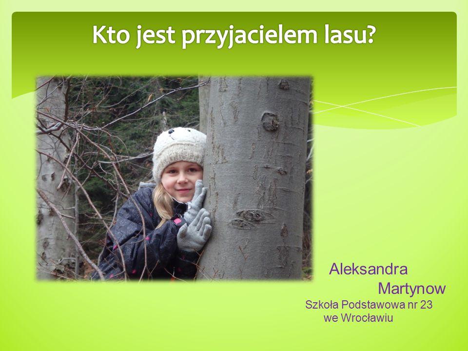 Aleksandra Martynow Szkoła Podstawowa nr 23 we Wrocławiu