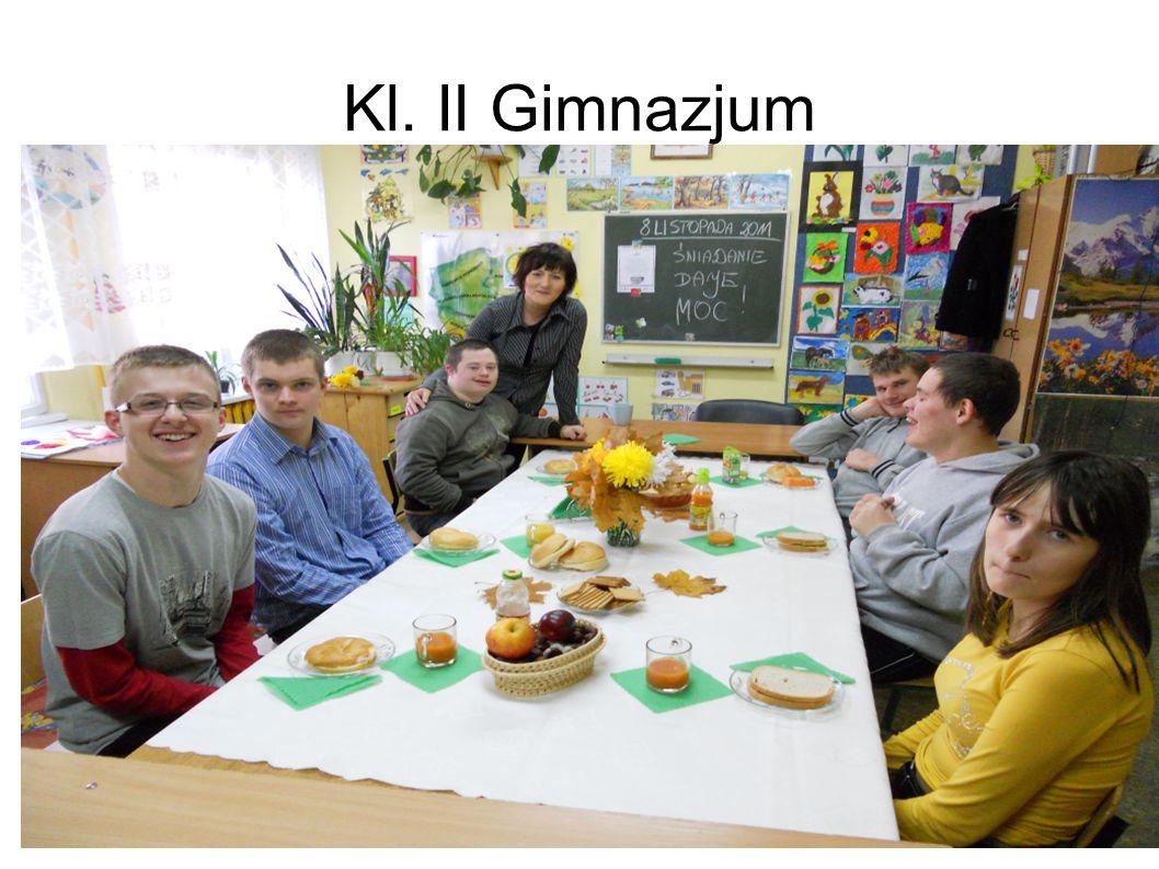 Kl. II Gimnazjum