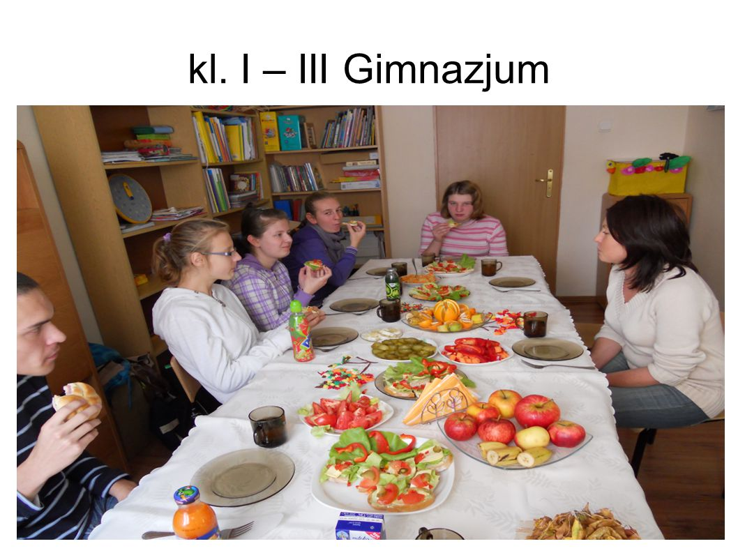 kl. I – III Gimnazjum