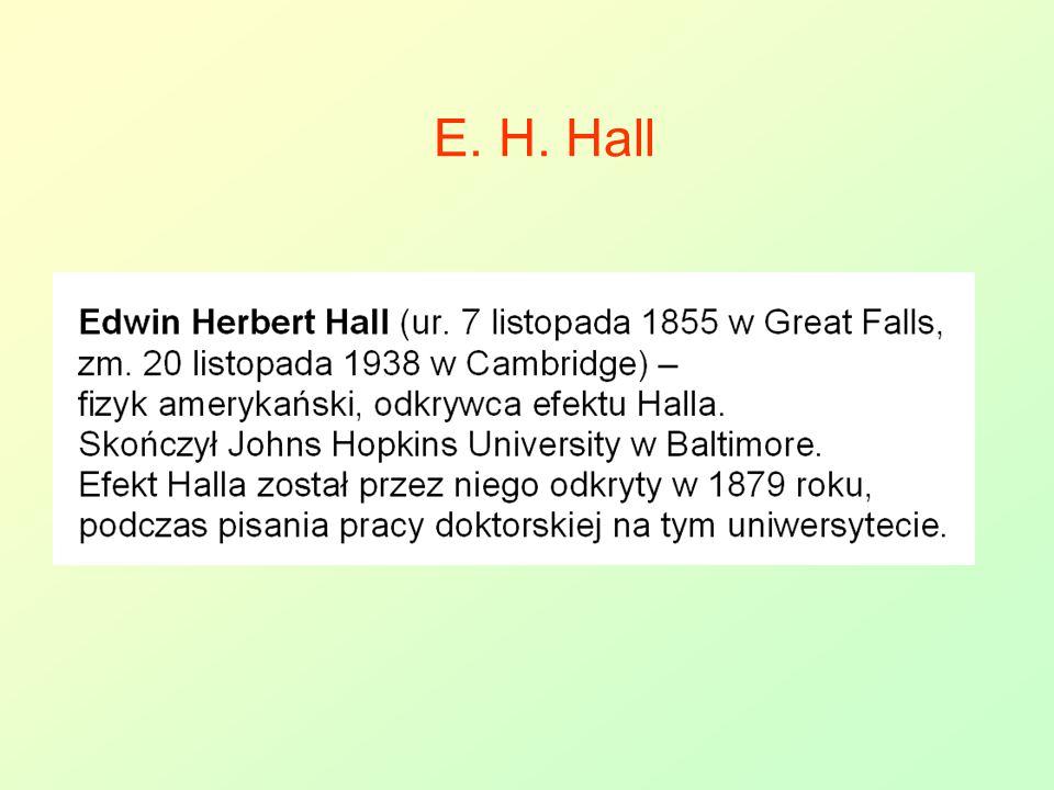 E. H. Hall