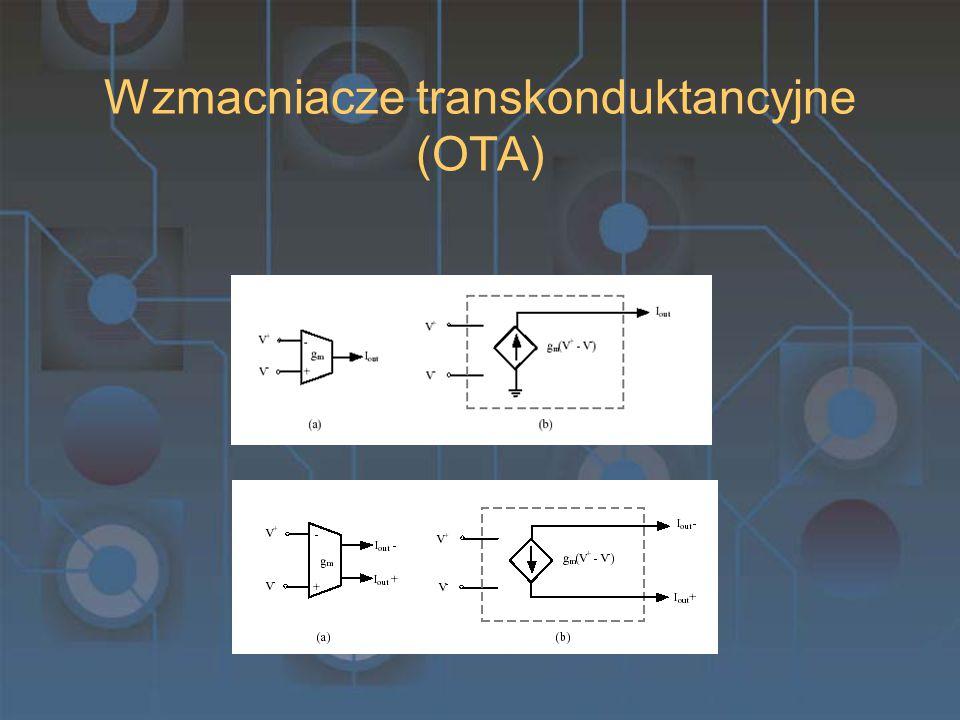 Wzmacniacze transkonduktancyjne (OTA)