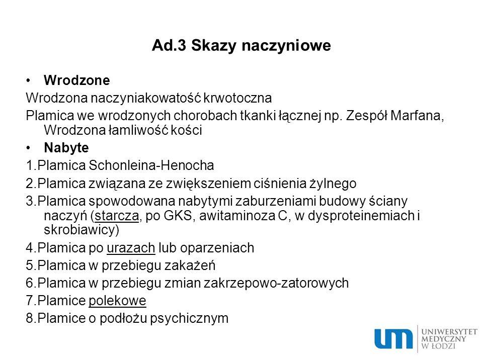 Ad.3 Leki przeciwpłytkowe