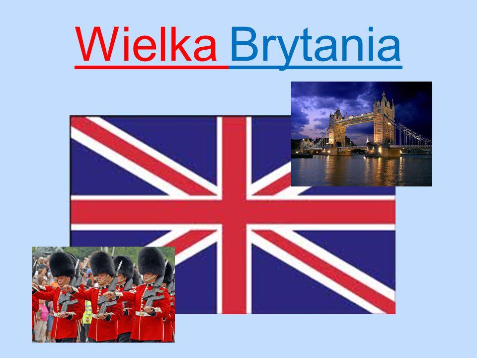 Zjednoczone Królestwo Wielkiej Brytanii i Irlandii Północnej Unitarne państwo wyspiarskie położone w Europie Zachodniej.