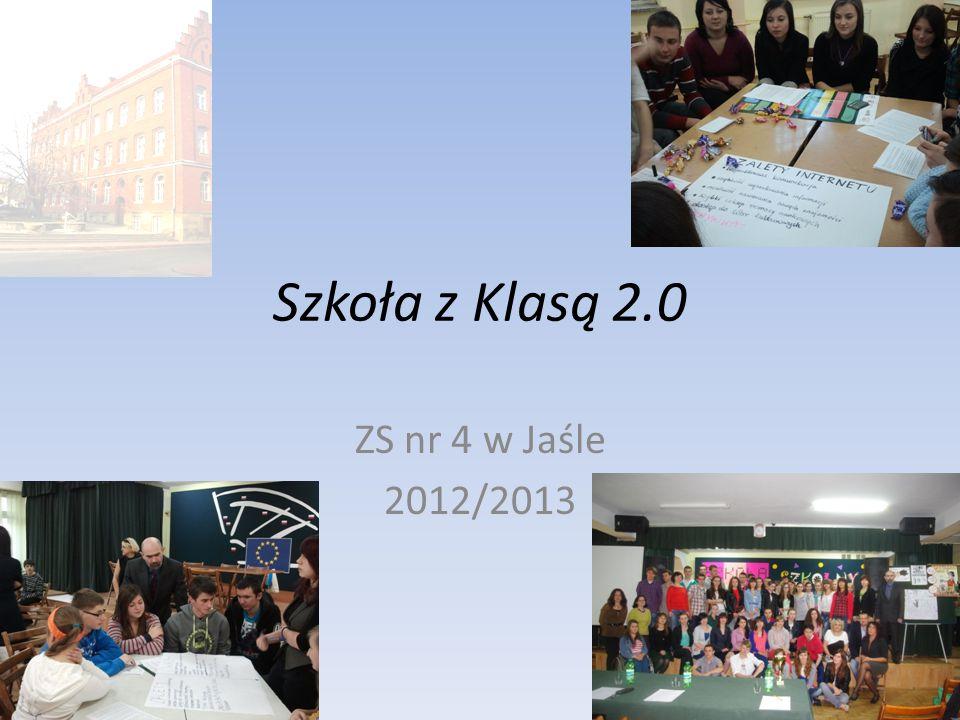 Szkoła z Klasą 2.0 ZS nr 4 w Jaśle 2012/2013