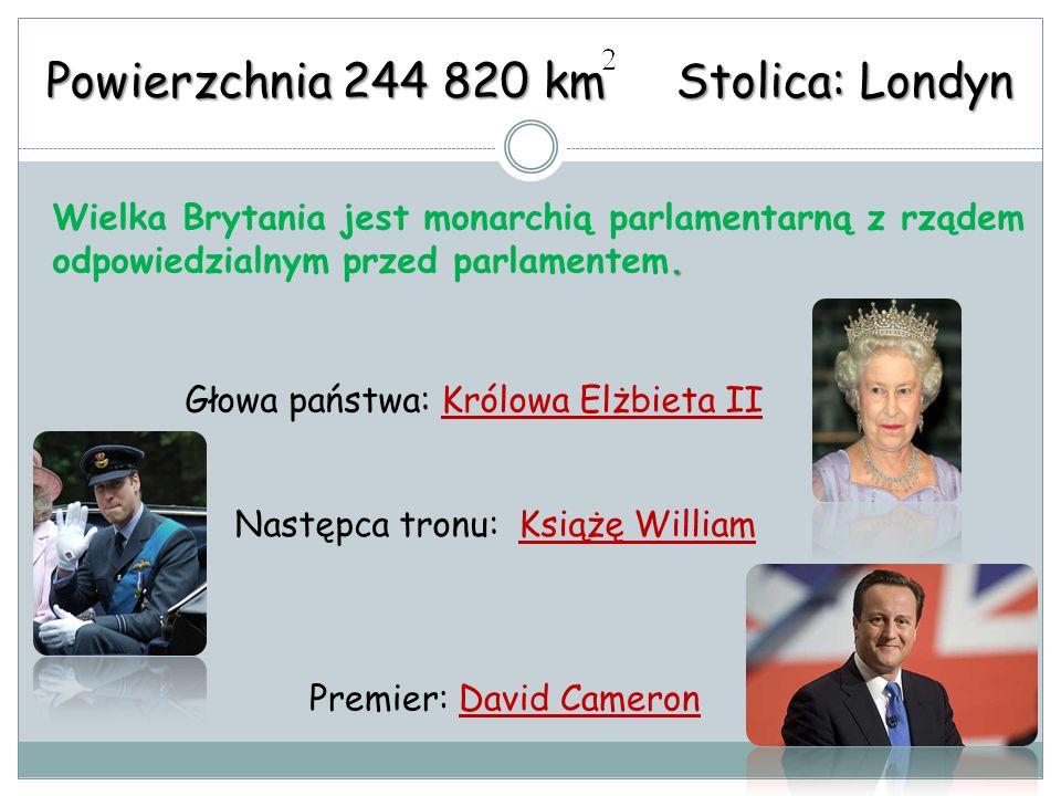 Powierzchnia 244 820 km Stolica: Londyn.