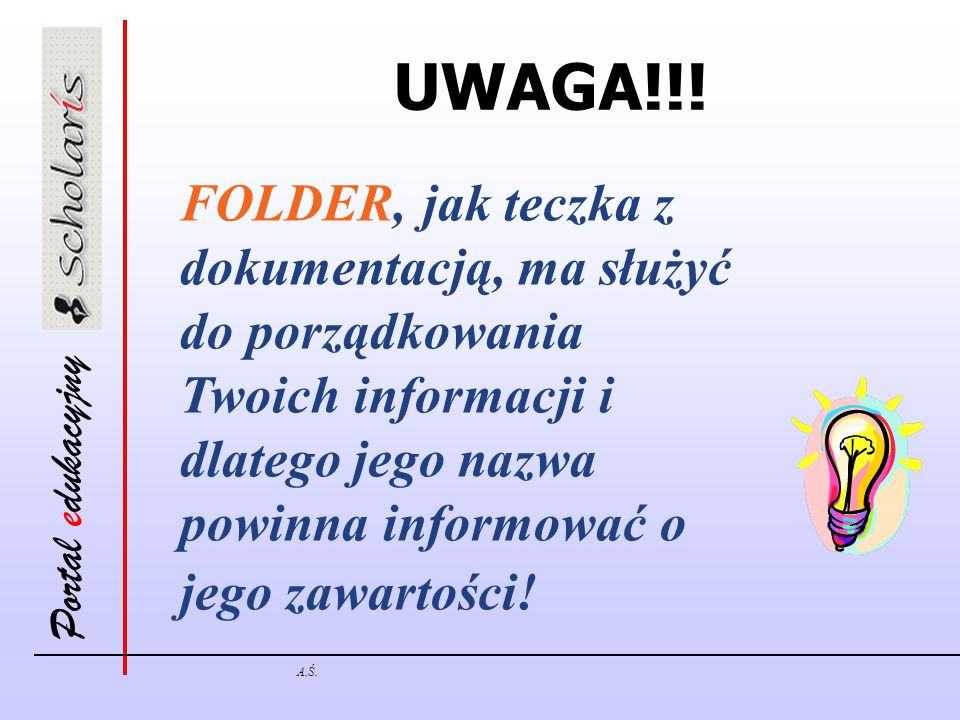 Portal edukacyjny A.Ś.UWAGA!!.