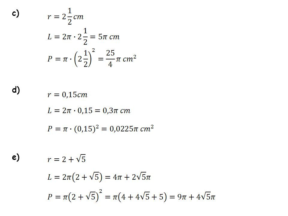 -pole kwadratu -pole koła opisanego na kwadracie