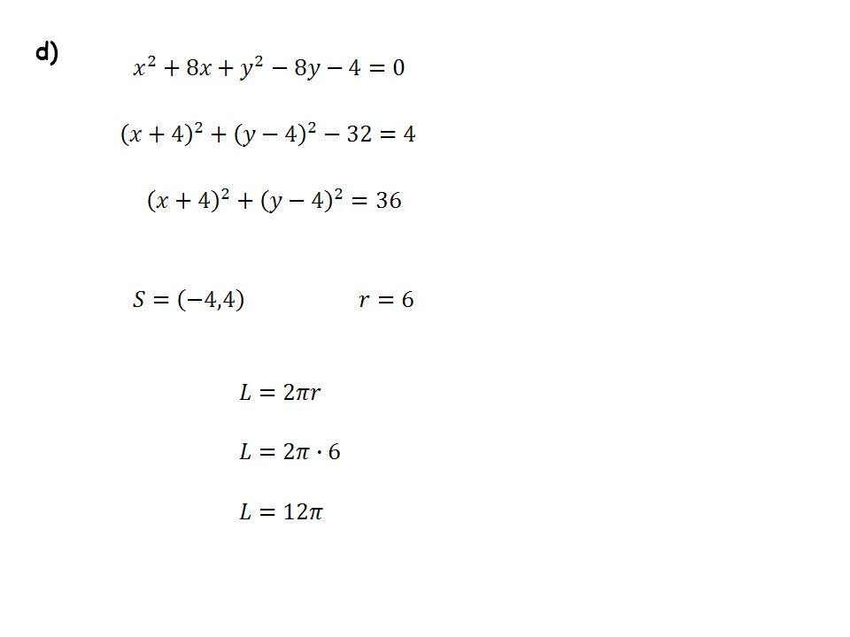 b) a=2 b=4 a b Odp.: Pole zakreskowanej figury równa się.