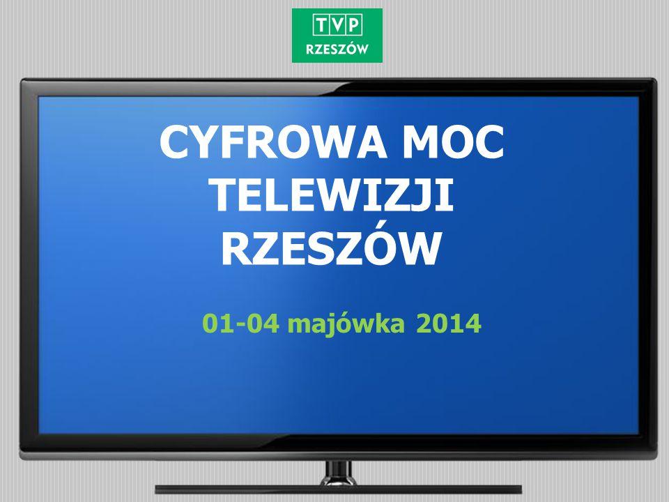 CYFROWA MOC TELEWIZJI RZESZÓW 01-04 majówka 2014