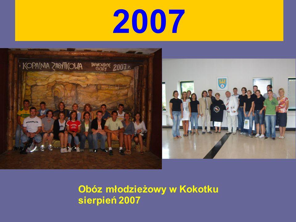 2007 Obóz młodzieżowy w Kokotku sierpień 2007