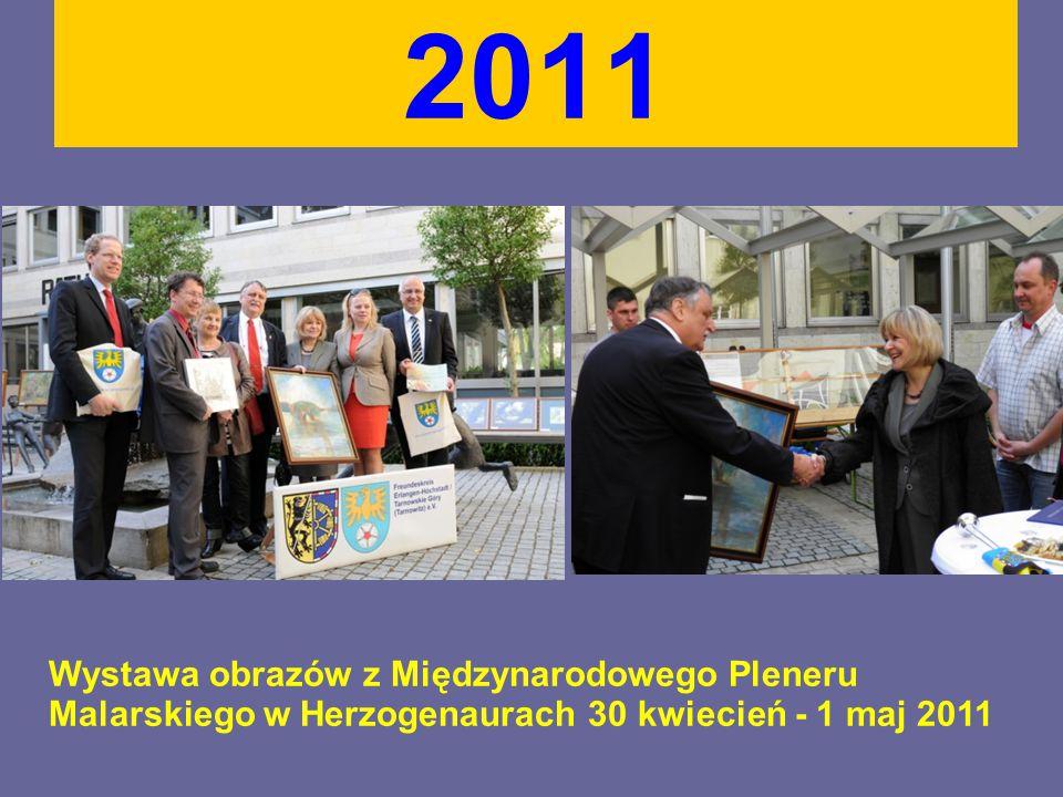 2011 Wystawa obrazów z Międzynarodowego Pleneru Malarskiego w Herzogenaurach 30 kwiecień - 1 maj 2011
